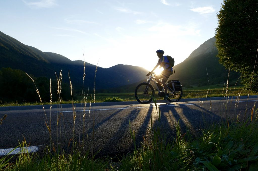 Podróż rowerem elektrycznym